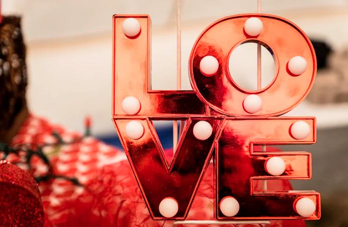 Celebrating Valentine's Day at home